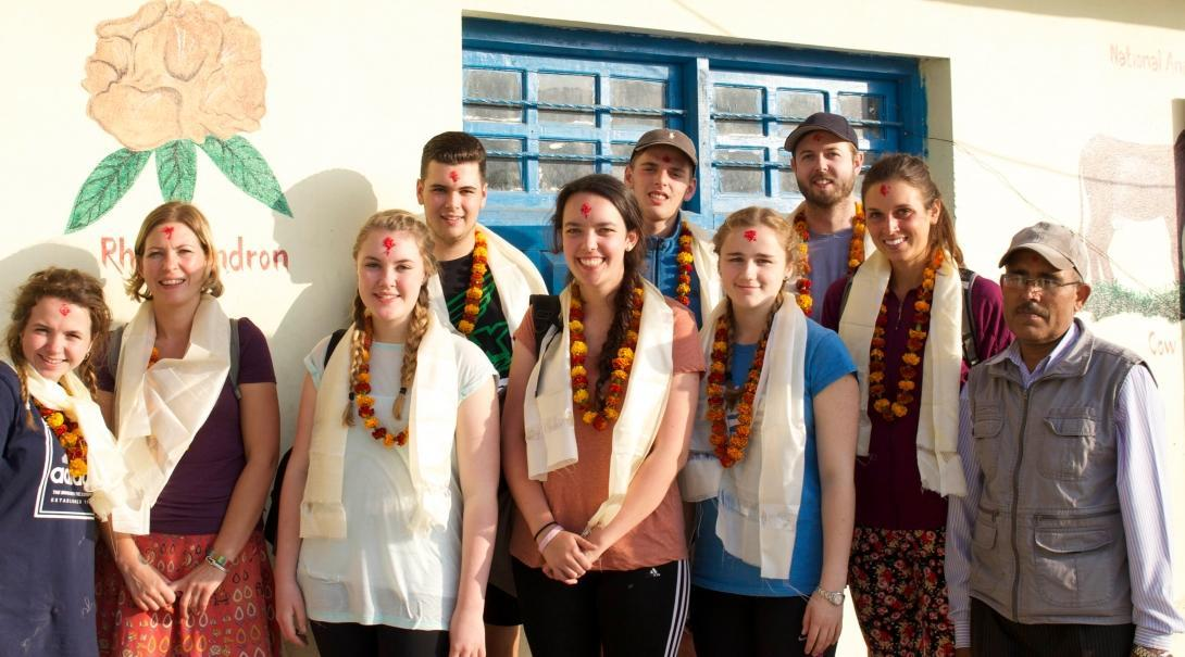 Teenagers gain medical work experience and learn about local culture in Nepal